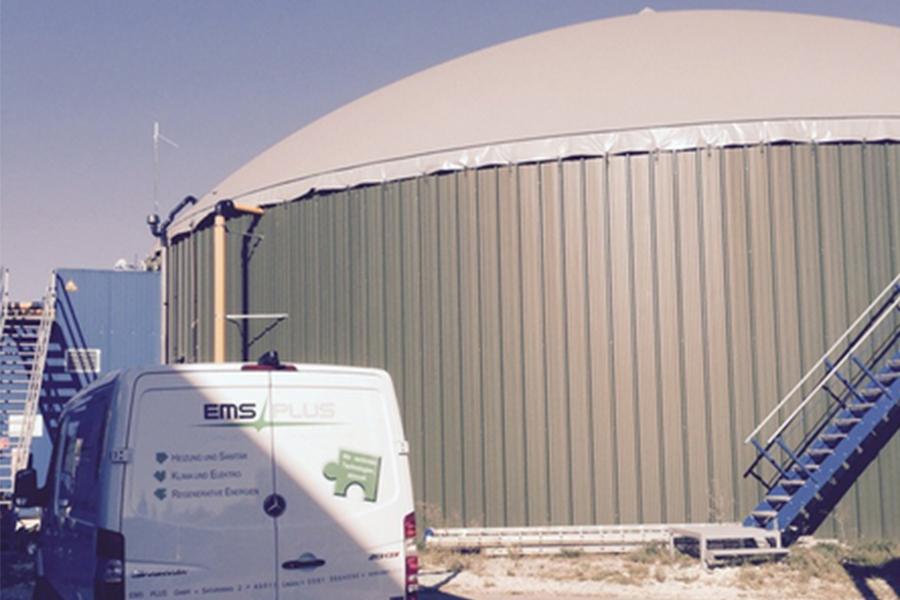 Biogasanlage Langenau
